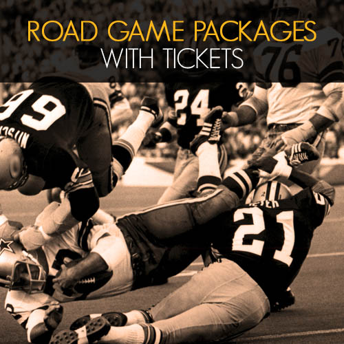 packers road game tickets