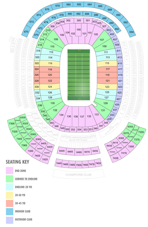 General Seating Map
