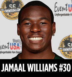 jamaal williams autograph reception